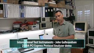 ITIC 2500A PCI Express Protocol Analyzer HW & SW Description