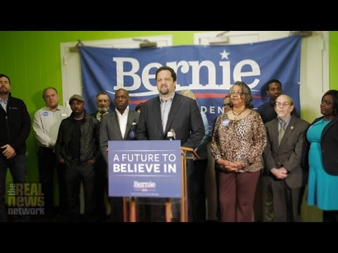 After A String of Victories, Sanders Opens Maryland Campaign HQ