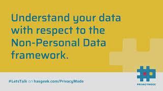 A Primer on Non-Personal Data (NPD)
