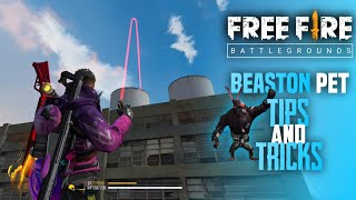 Free Fire Beaston Pet Tips and Tricks   Beaston Ability Test   Gloo Wall and Grenade Tips and Tricks