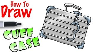 How to Draw Cuff Case Back Bling | Fortnite
