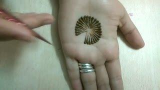 Easy simple Mehndi Heena designs Tutorial-mehndi design for hands..