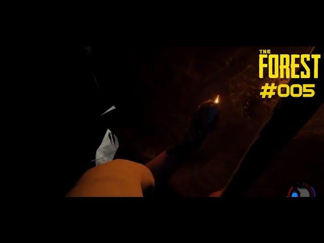 Let's Play The Forest | Höhlen-Panik | Folge #005