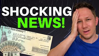 WOW! UNEXPECTED GOOD NEWS! Second Stimulus Check Update and News Report!