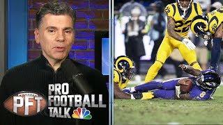 How defenses can slow down Lamar Jackson | Pro Football Talk | NBC Sports