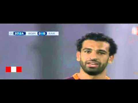 M.Salah vs Jordi alba SPEED