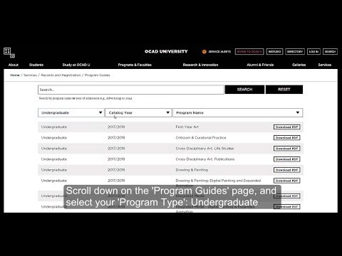 How to Access Program Guides