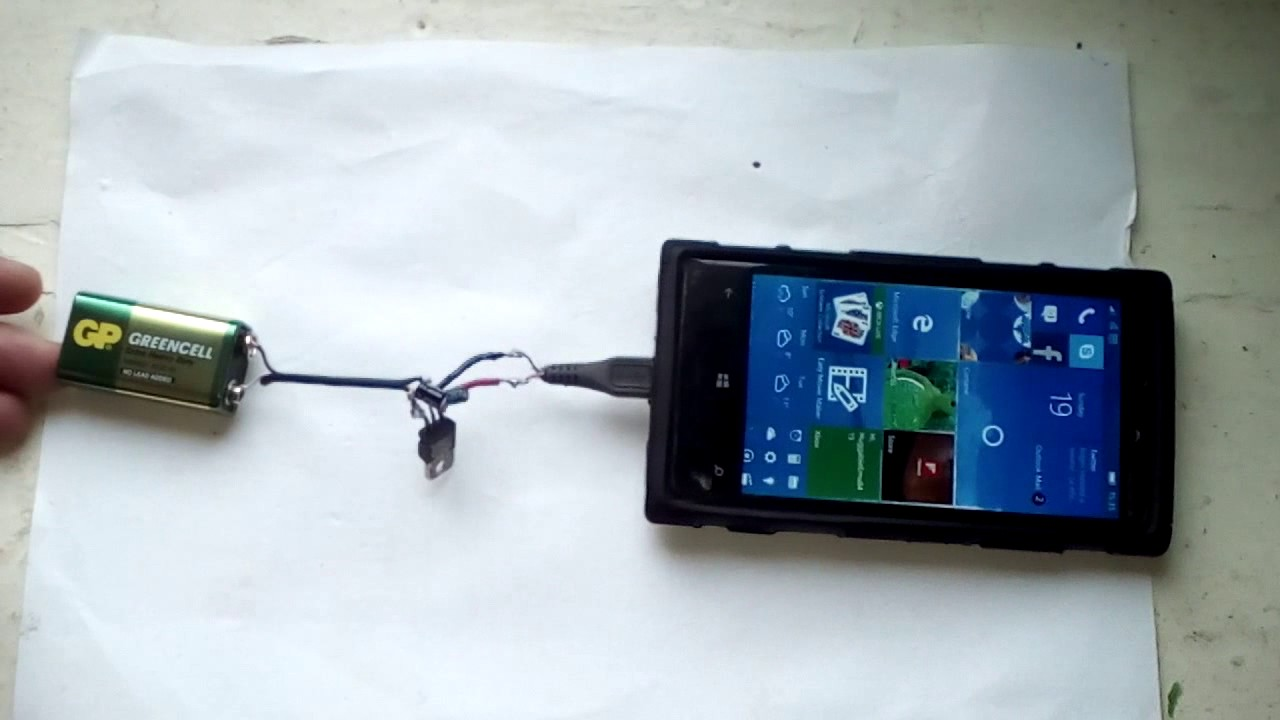 Портативное зарядное для телефона своими руками фото 366