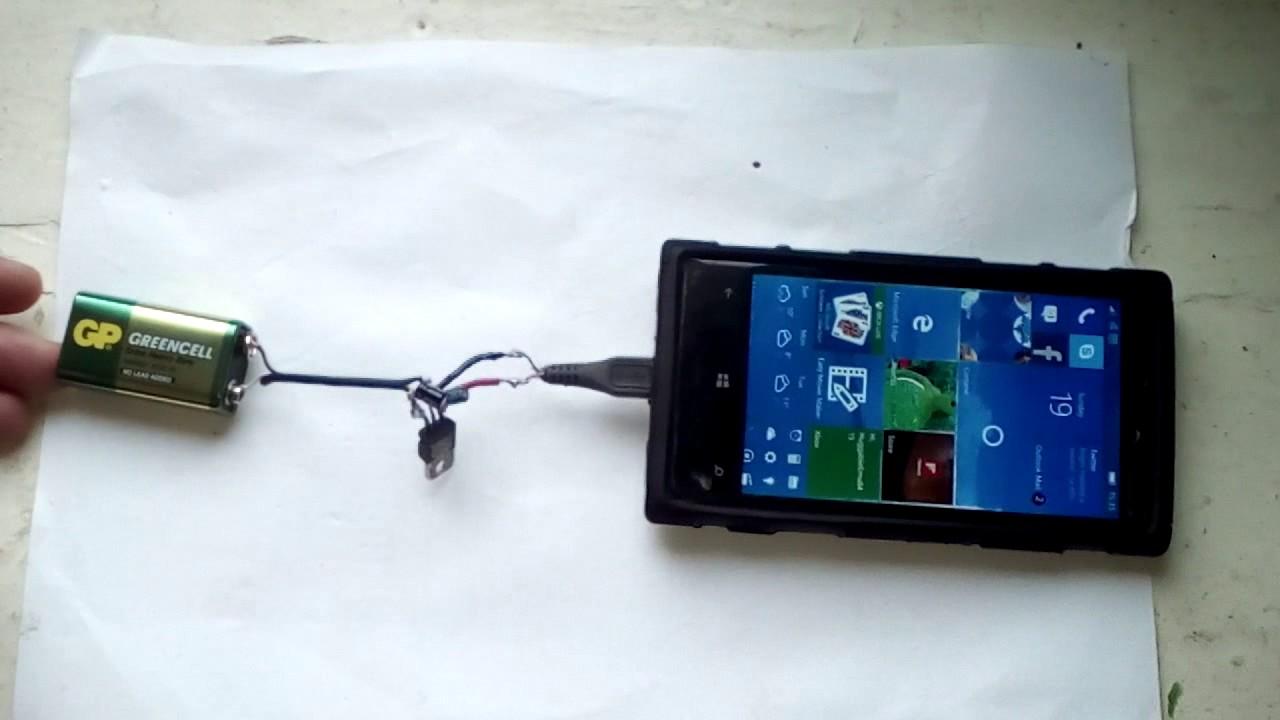 Переносное зарядное устройство своими руками фото 678