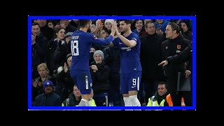 Breaking News   Giroud FA Cup stat shows why Alvaro Morata is named on bench for Chelsea