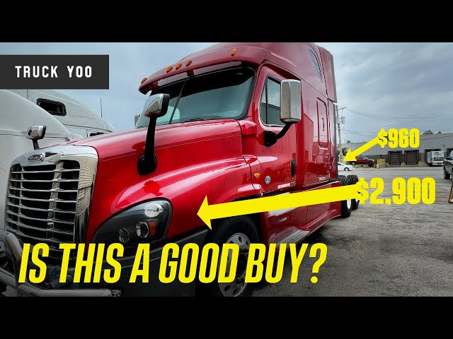 Freightliner Cascadia list of issues after purchase.