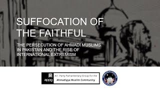 APPG releases report highlighting persecution of Ahmadi Muslims