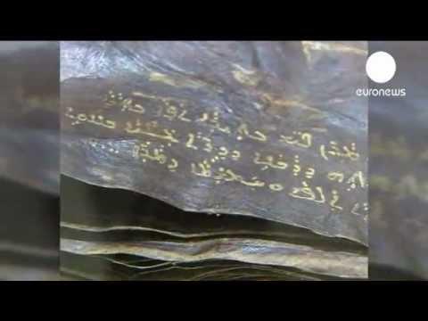 Antique bible turns up in Turkey [2012: EURONEWS]