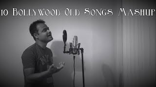 Download Old Bollywood Songs Mashup Vol 1 || 10 Songs in one Beat || Subhadip MP3 song and Music Video
