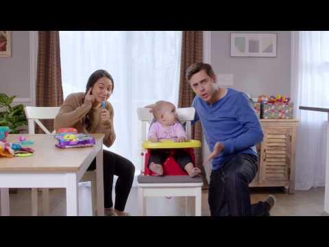 Disney Baby/Pixar Cars Booster Feeding Seat
