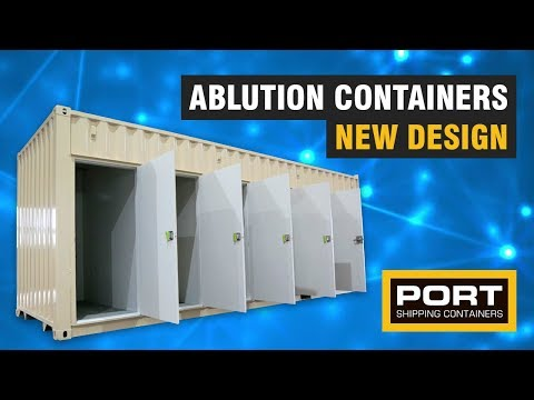 Ablution Containers - Toilet Blocks Built Out Of Shipping Containers
