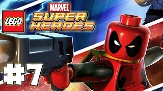 LEGO Marvel Superheroes - LEGO BRICK ADVENTURES - Part 7 - Torch! (HD Gameplay Walkthrough)