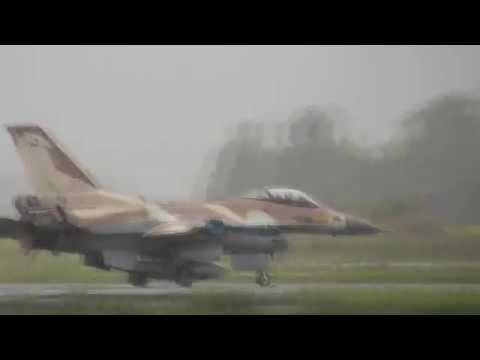 The Israeli Air Force Airshow for the The Independence Day 66th of Israel