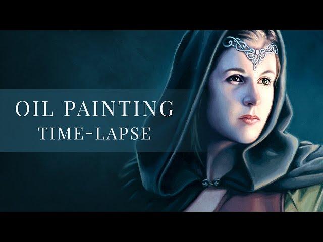 Light Bearer » Oil Painting Time-lapse by tiSpark