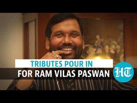 Ram Vilas Paswan passes away: President, PM Modi, others pay tribute