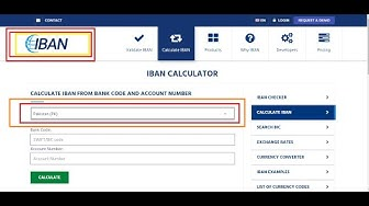iban ||iban number in pakistan||2020|| easy way IBAN calculator all banks in pakistan||