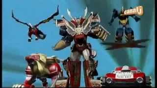 Power Rangers Super Megaforce - Extrait VF - Megazord Légendaire Ultime - Attaque Eclair