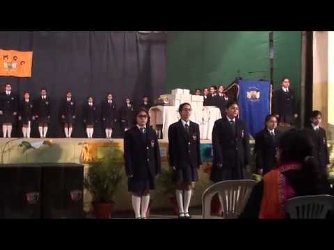 Prefect oath taking ceremony at La Martiniere Girls' College Lucknow-2018
