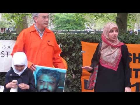 100 Days of Guantánamo Hunger Strike: London Action (video, part 3)