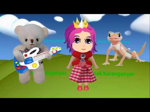 CICAK-CICAK DI DINDING ❤ Lagu anak anak terpopuler ❤ Little Princess & Bayi Lucu