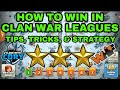 HOW TO WIN CLAN WAR LEAGUES, TIPS, TRICKS, AND STRATEGY, CLASH OF CLANS UPDATE