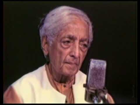 J  Krishnamurti   Bombay Mumbai 1984   Public Talk 1   A different quality of life