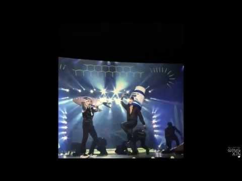 150614 ChangMin FISH Dance feat. EXO XiuMin, Chen, BaekHyun - TVXQ Tistory