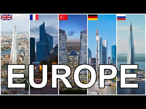 Tallest Buildings in Each Europe Country 2020