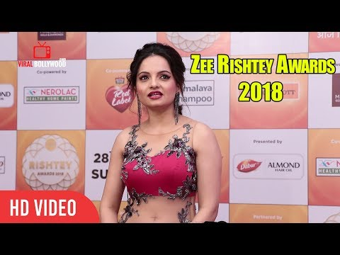 Giaa Manek At Zee Rishtey Awards 2018 | #ZeeAwards2018