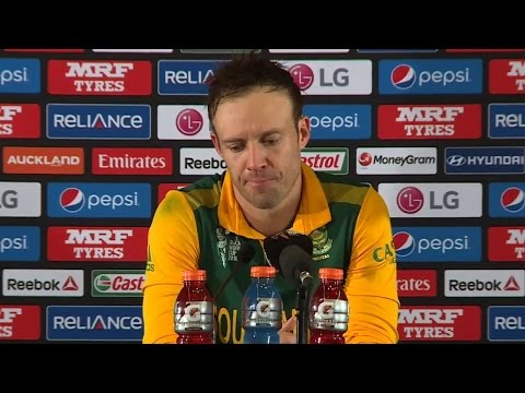 2015 WC: De Villiers gets Emotional after losing to New Zealand