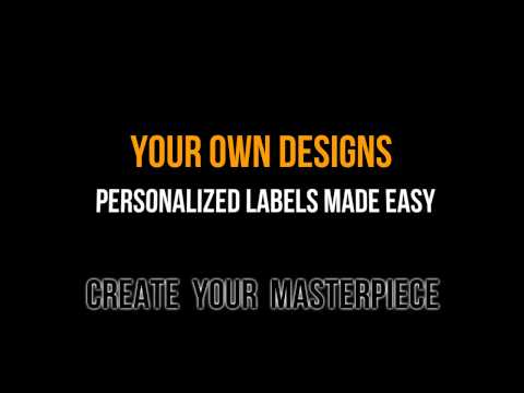 Make Your Own Custom Labels