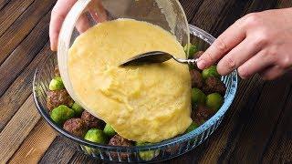 Картофельная Запеканка с Мясом И Капустой: Простой, Красивый и Вкусный Рецепт