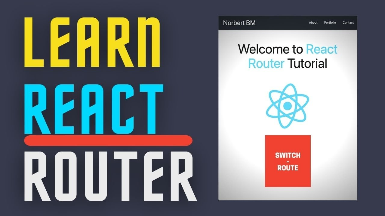 React Router Tutorial  | Create Website navigation using React Router, Routs, Switch and Link