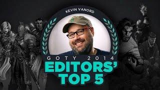 Kevin VanOrd - GameSpot Editors' Top 5 Games of 2014