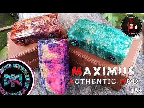 MOD : Maximus Authentic Mod V1 Bellato (batch 1) by Kawanua VapeChannel