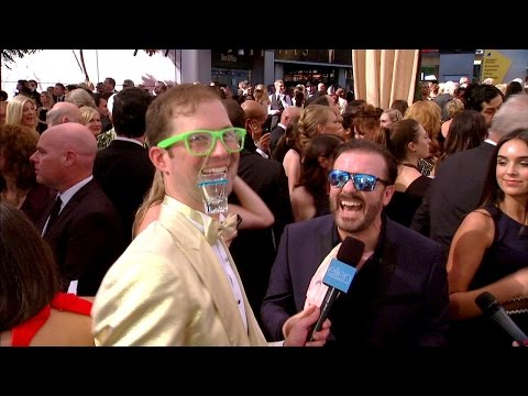 Andy Heats Up the Emmy Red Carpet!