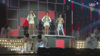 Gambar cover 2NE1 - 'CRUSH' + 'COME BACK HOME' in 2014 SBS Gayodaejun