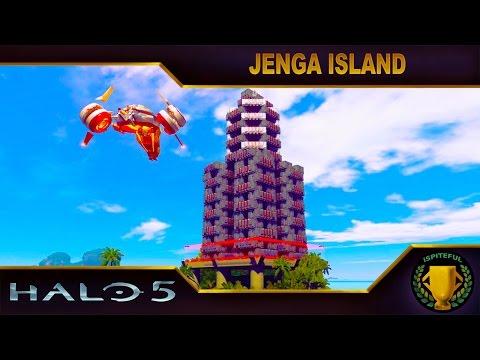 Halo 5 Custom Game : Jenga Island