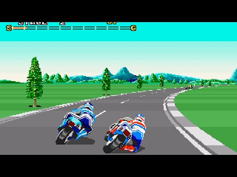 Super Hang-On Longplay (Arcade) [60 FPS]