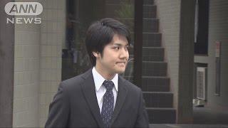 小室圭さんカメラの前で笑顔 横浜の自宅を出発(17/05/17) 小室圭 検索動画 22