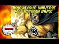 All Batman Power Rings (Green,Yellow,Black,White)-  Know Your Universe