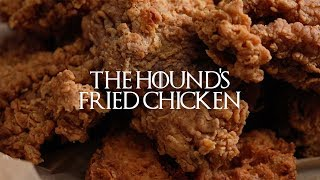 Game of Thrones Watch Party Recipes | The Hound's Fried Chicken