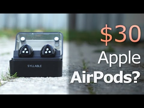 $30-apple-airpods?-review:-syllable-d900-mini-wireless-earbuds!
