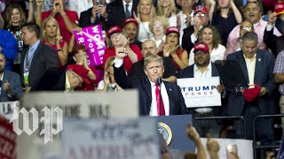 Trump holds a rally in Pennsylvania