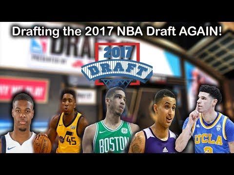 Re-Drafting the 2017 NBA Draft AGAIN - Halfway through the season!!!